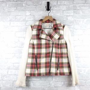 Sundance plaid wool blend Jacket   Size 2